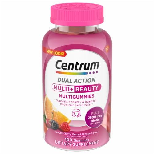 Centrum Health & Beauty Multigummies Perspective: front