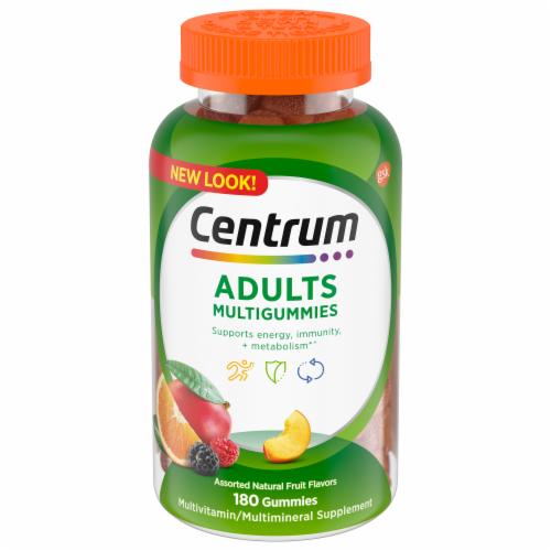 Centrum Adults Multigummies Multivitamin Perspective: front