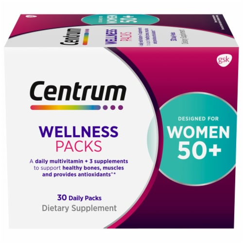 Centrum Womens 50+ Daily Wellness Packs Perspective: front