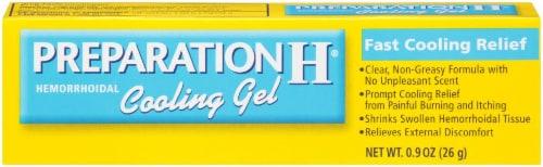 Preparation H Hemorrhoidal Cooling Gel Perspective: front