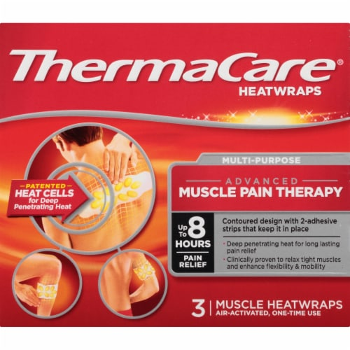 ThermaCare® Multi-Purpose Advanced Muscle Pain Therapy Heatwraps Perspective: front