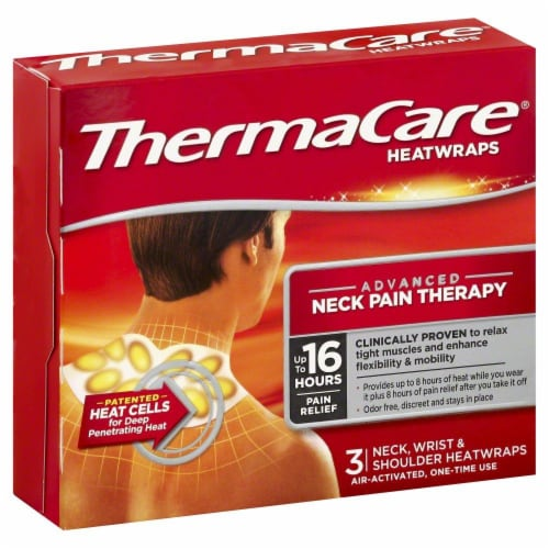 ThermaCare Neck Heatwraps Perspective: front