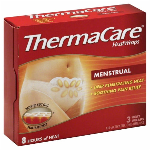 ThermaCare Menstual Perspective: front
