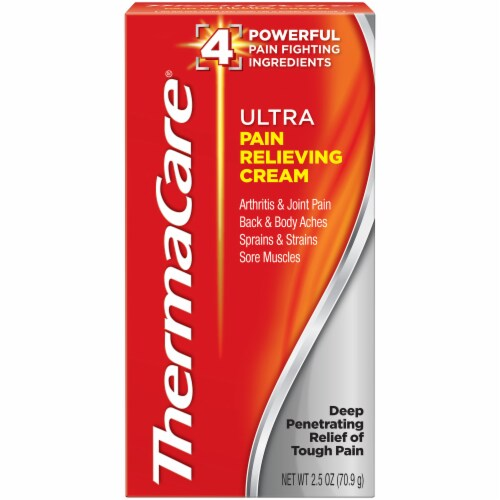 ThermaCare Ultra Pain Relieving Cream Perspective: front