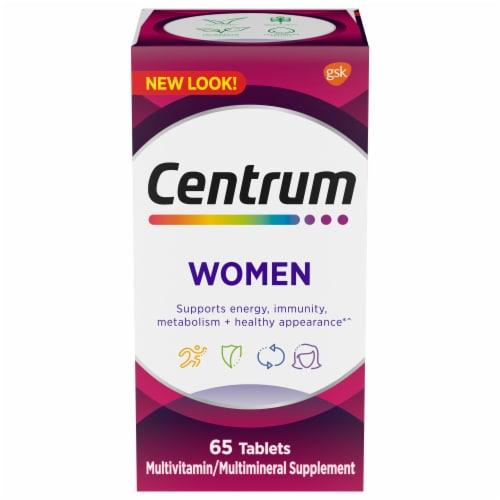 Centrum Women Multivitamin Tablets Perspective: front