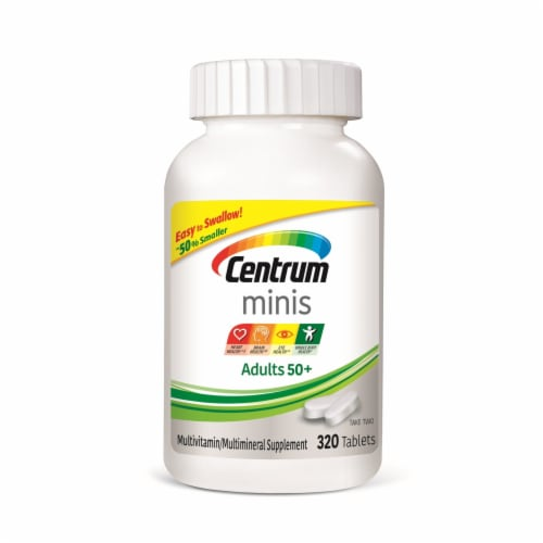 Centrum Silver Minis Adult 50+ Multivitamins Perspective: front