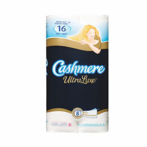 2-Ply Bathroom Tissue, Ultra Luxe 8x176 Sheets by Cashmere Perspective: front