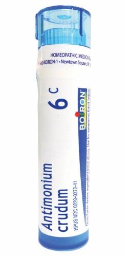 Boiron Indigestion Antimonium Crudum 6 C Perspective: front