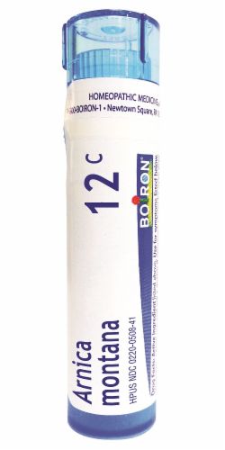 Boiron Arnica Montana 12c Homeopathic Medicine Perspective: front