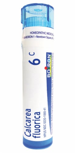 Boiron Sprains Calcarea Fluorica 6 C Perspective: front