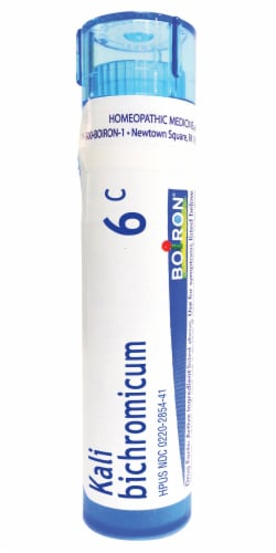 Boiron Cold Kali Bichromicum 6 C Pellets Perspective: front