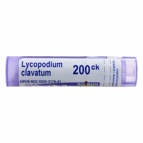 Boiron Lycopodium Clavatum 200 CK, 80 Pellets Perspective: front