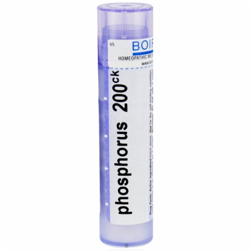 Boiron Phosphorus 200 CK, 80 Pellets Perspective: front