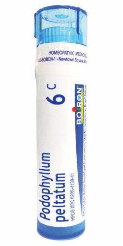 Boiron Podophyllum Peltatum 6c Homeopathic Medicine Perspective: front