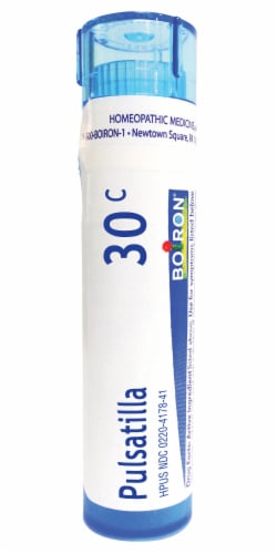 Boiron Pulsatilla 30c Homeopathic Medicine Perspective: front