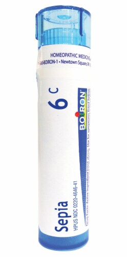 Boiron Sepia 6c Homeopathic Medicine Perspective: front