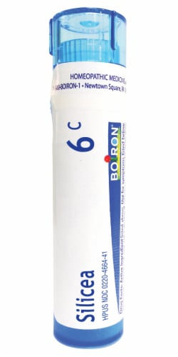 Boiron Silicea 6c Homeopathic Medicine Perspective: front