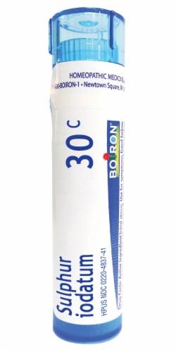 Boiron Sulphur Iodatum 30c Homeopathic Medicine Perspective: front