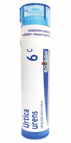 Boiron Urtica Urens 6c Homeopathic Medicine Perspective: front