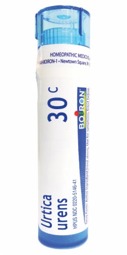 Boiron Urtica Urens 30c Homeopathic Medicine Perspective: front