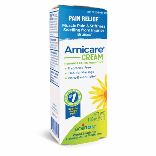 Boiron Arnicare Cream Pain Relief Perspective: front