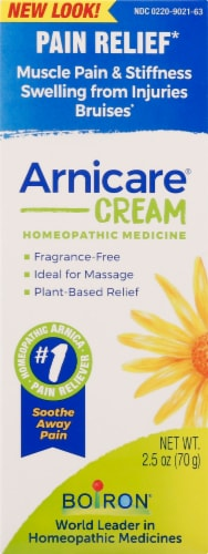 Boiron Arnicare Pain Relief Cream Perspective: front