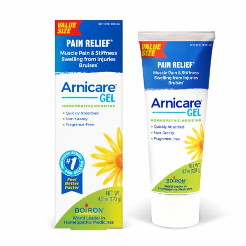 Boiron Arnicare Pain Relief Gel Value Size Perspective: front