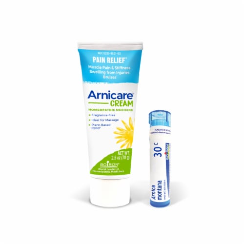 Boiron Arnicare Homeopathic Pain Relief Cream Perspective: front