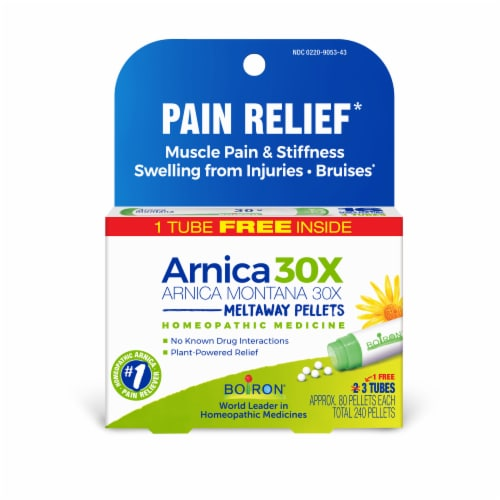 Boiron  Arnica 30X Pellets Perspective: front