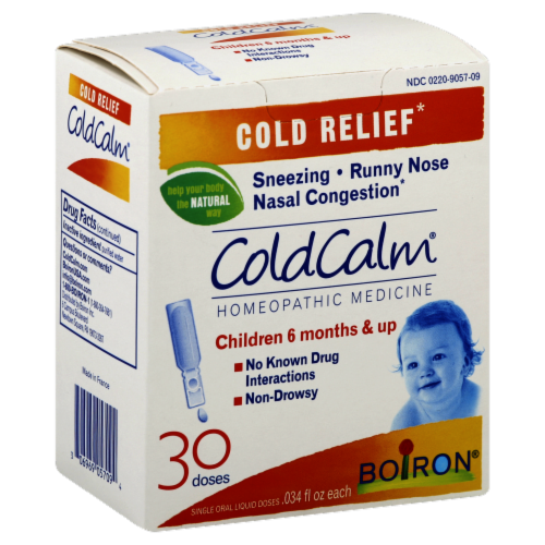 Boiron Children's Cold Calm Cold Relief Doses Perspective: front