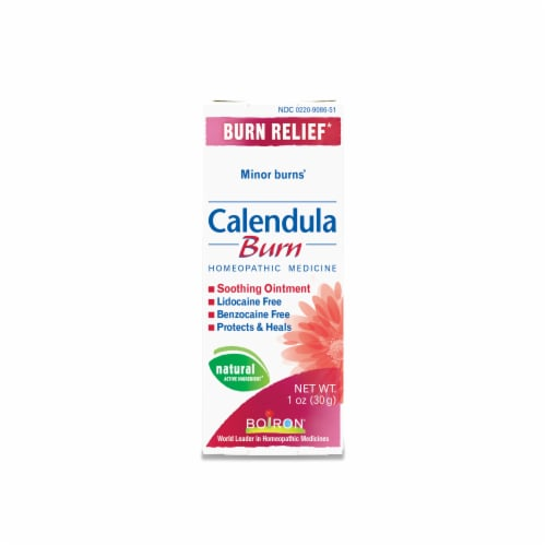 Boiron Calendula Burn Relief Homeopathic Medicine Perspective: front