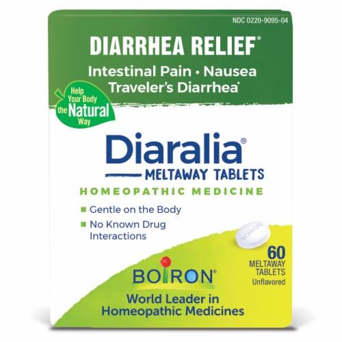 Boiron Diaralia Diarrhea Relief Tablets Perspective: front