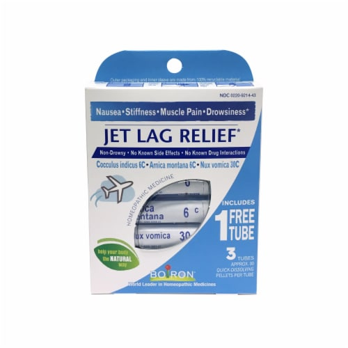 Boiron Jet Lag Relief Perspective: front