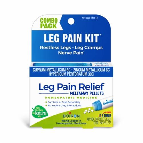 Boiron Leg Pain Relief Pellets Perspective: front