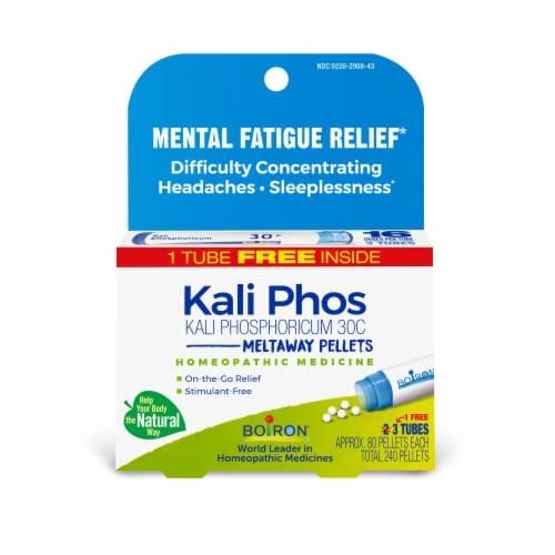 Boiron Kali Phosphoricum 30C Pellets Multi-Pack Perspective: front