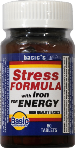 Basic Stress Formula with Iron Tabs Perspective: front