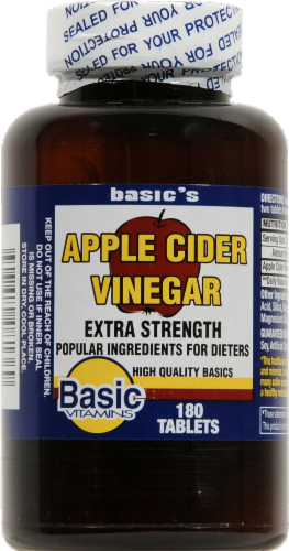 Basic Apple Cider Vinegar Perspective: front