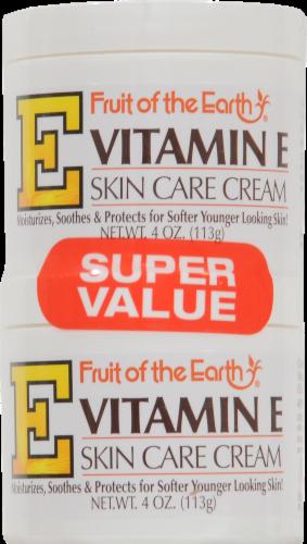 Fruit of the Earth Vitamin E Skin Care Cream Perspective: front