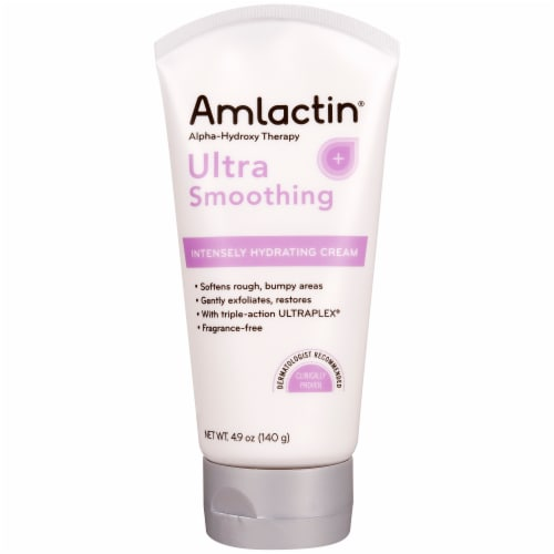 Amlactin Ultra Smoothing Intensely Hydrating Cream Perspective: front