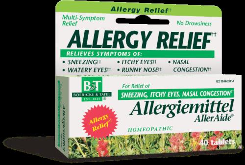 Boericke & Tafel Allergiemittel AllerAide Allergy Relief Tablets Perspective: front