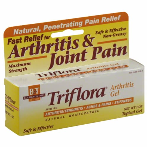 B&T Trifloral Arthritis Gel Perspective: front