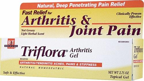 Boericke & Tafel  Triflora Arthritis Gel Perspective: front
