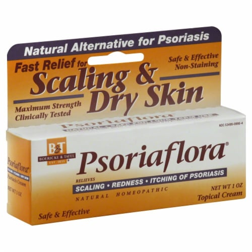Boericke & Tafel Psoriaflora Scaling & Dry Skin Relief Cream Perspective: front