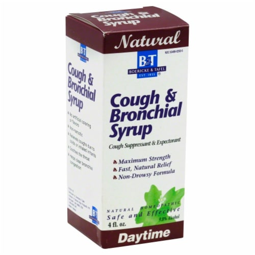 Boericke & Tafel Daytime Cough & Bronchial Syrup Perspective: front