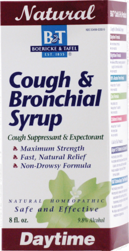 Boericke & Tafel Cough & Bronc Syrup Perspective: front
