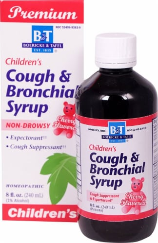 Boericke & Tafel  Children's Cough and Bronchial Syrup Perspective: front