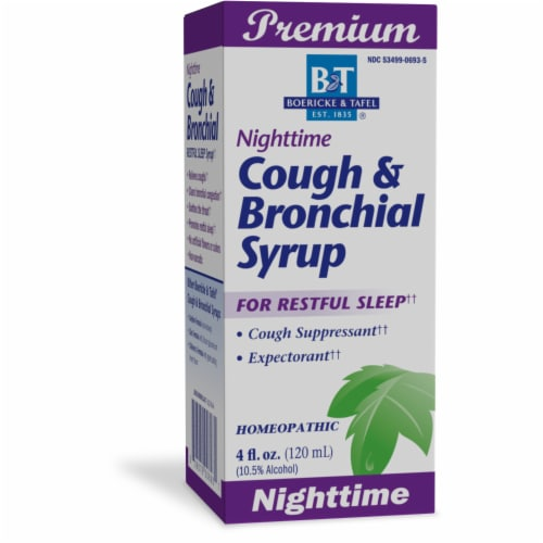 Boericke & Tafel Nighttime Cough Syrup Perspective: front