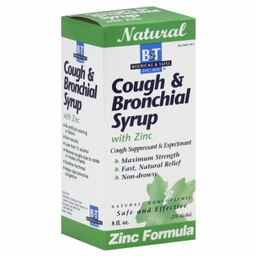 Boericke & Tafel Cough & Bronchial Syrup Perspective: front