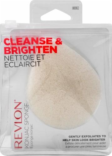 Revlon Cleanse & Brighten Konjac Sponge Perspective: front