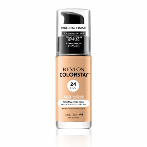 Revlon Colorstay Makeup Foundation Normal / Dry Skin Macadamia Perspective: front